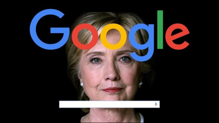 Did Google Manipulate Search forHillary?